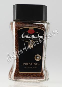 Кофе Ambassador Растворимый Prestige 95 гр (ст.б.)