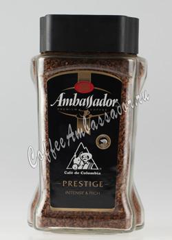 Кофе Ambassador Растворимый Prestige 190 гр (ст.б.)